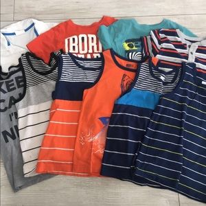 Boys size 5/6 from Crazy 8 (tanks all sold)
